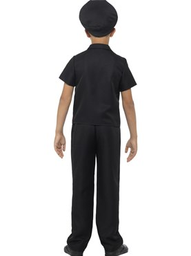 Child New York Cop Costume - Side View
