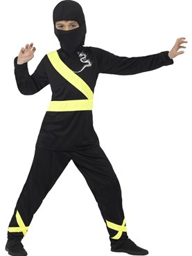 Child Ninja Assassin Costume