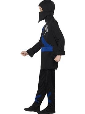 Child Ninja Assassin Costume - Back View