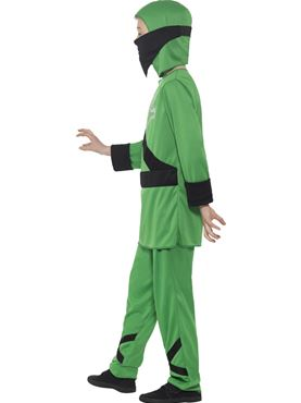 Child Ninja Assassin Costume - Back View