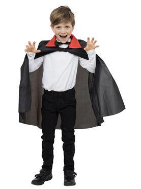 Child Nylon Dracula Cape