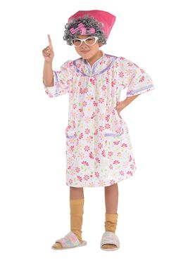 Child Old Lady Costume
