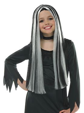 Child Old Witch Wig