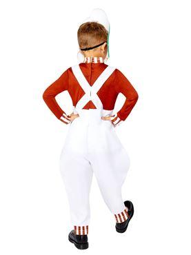 Child Oompa Loompa Costume - Back View