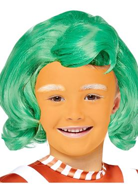 Child Oompa Loompa Wig