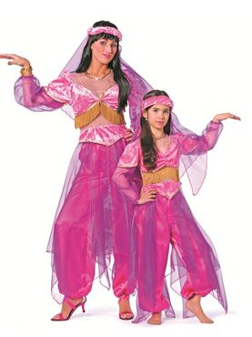 Child Oriental Bollywood Costume