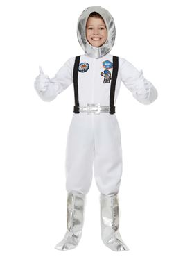 Child Out of Space Astronaut Costume Couples Costume