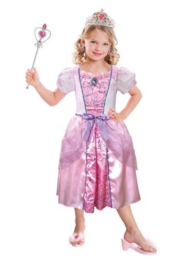 Child Pink Princess Costume