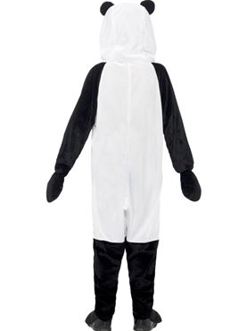 Child Panda Onesie Costume - Side View