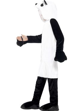 Child Panda Onesie Costume - Back View