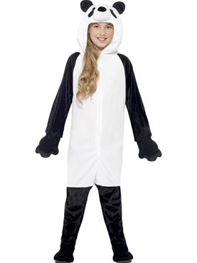 Child Panda Onesie Costume