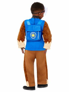 Child Paw Patrol Deluxe Chase Costume - Back View