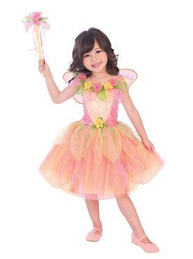 Child Peach Sorbet Fairy Costume