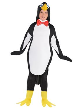 Child Penguin Costume - Back View