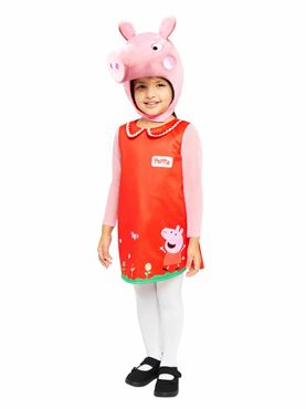 Child Peppa Pig Plush Head Costume