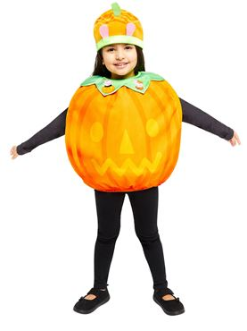 Child Peppa Pig Pumpkin Tabard Costume