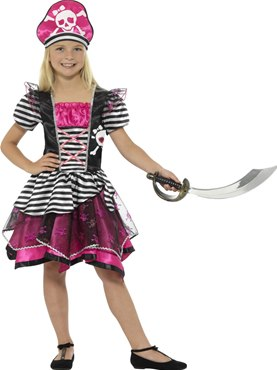 Child Perfect Pirate Girl Costume