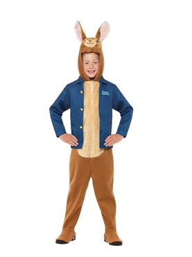 Child Peter Rabbit Costume - Side View