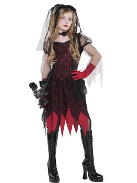 Child Deadly Wed Costume