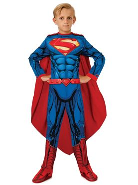 Child Photo Real Superman Costume