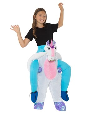 Child Piggy Back Unicorn Costume
