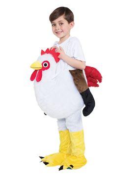 Child Piggy Back Chicken Costume