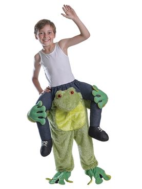 Child Piggyback Frog Costume