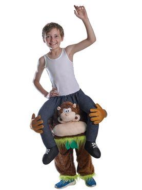 Child Piggyback Monkey Costume