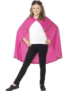 Child Pink Superhero Cape