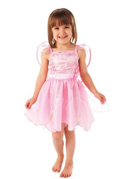 Child Pink Fairy Costume