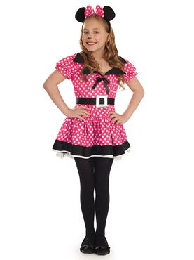 Child Pink Little Missy Costume