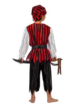 Child Pirate Boy Costume - Side View