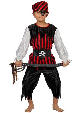Child Pirate Boy Costume