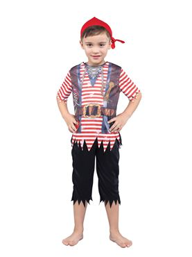 Child Pirate Boy Costume Couples Costume