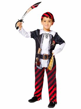 Child Pirate Boy Sustainable Costume