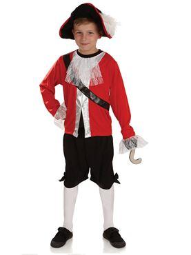 Child Pirate Captain Costume
