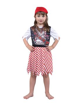 Child Pirate Girl Costume Couples Costume