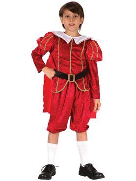Child Tudor Prince Costume