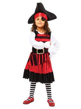 Child Pirate Lass Costume Couples Costume