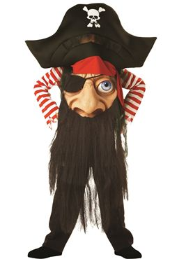 Child Pirate Mad Hatter Costume