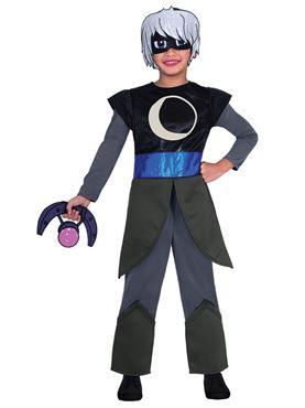 Child PJ Masks Luna Girl Costume - Back View