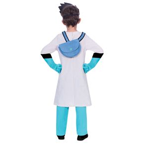Child PJ Masks Romeo Costume - Back View