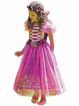Child Plum Princess Costume