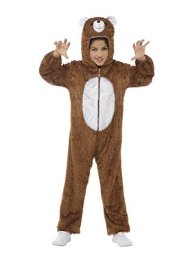 Child Plush Bear Costume