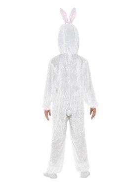 Child Plush Bunny Costume - Side View