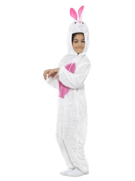 Child Plush Bunny Costume - Back View