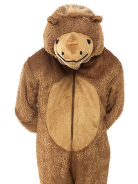 Child Plush Camel Costume - Side View