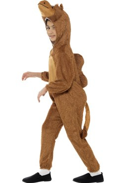 Child Plush Camel Costume - Back View