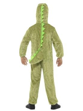 Child Plush Crocodile Costume - Side View