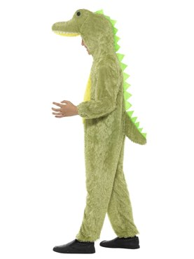 Child Plush Crocodile Costume - Back View